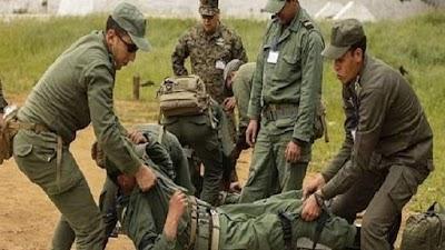 إصابة 12 عسكريا خلال أداء مهامهم في الناظور