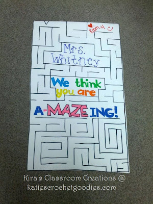 we think you are a-maze-ing