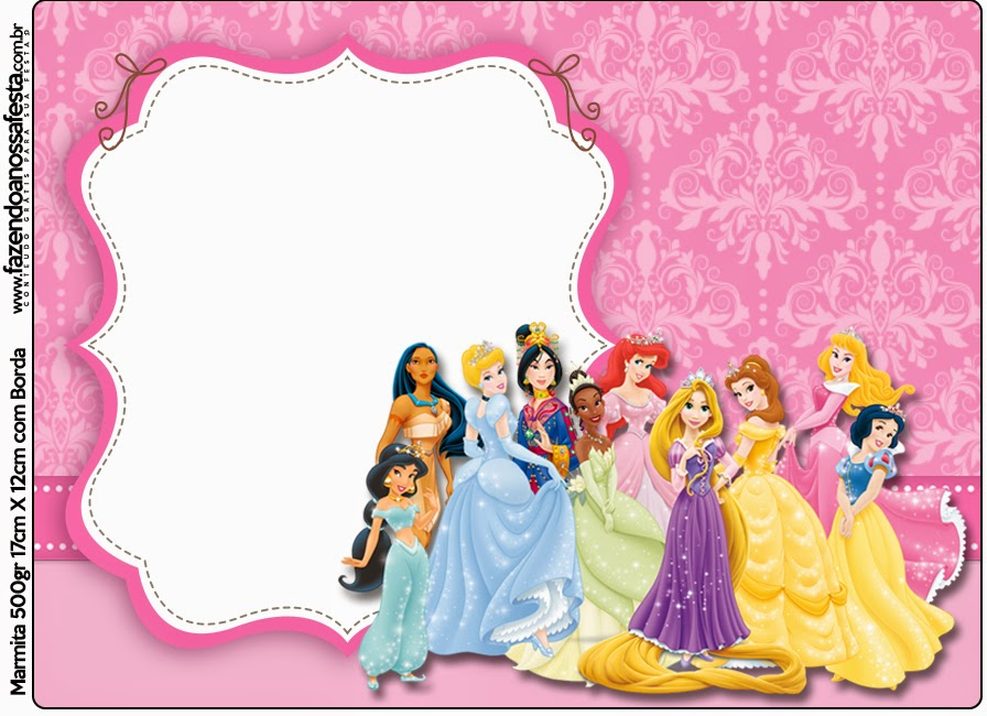 Disney Princess Party: Free Printable Candy Bar Labels ...