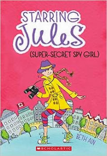 Starring Jules (super-secret spy girl)