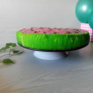 Lubenica Torta - Watermelon Cake