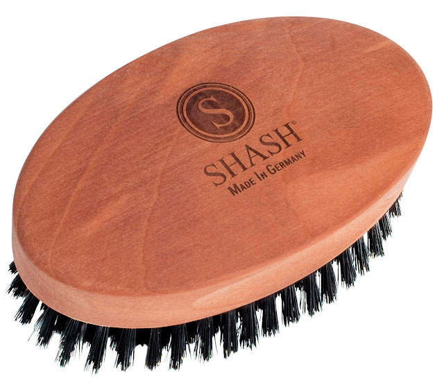 Shash Captain Boar Bristle Hair Brush