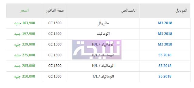 أسعار سيارات هايما 2018 في مصر