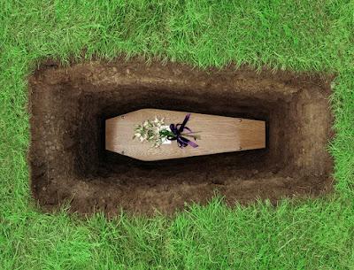 A morte de um servo de Deus – Fúnebre