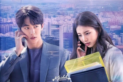 nam joo hyuk dan bae suzy di drama korea startup