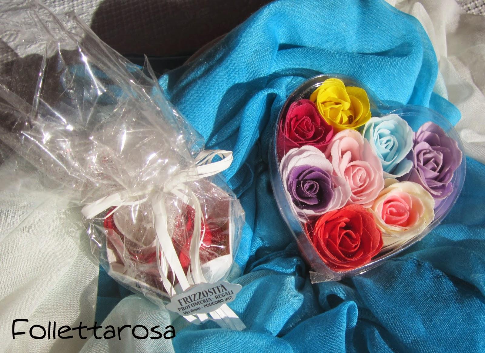 rose per bagno romantico