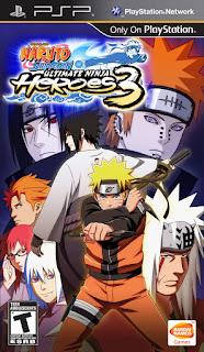 Naruto Shippuden – Ultimate Ninja Heroes 3 ISO PSP - PPSSPP Game