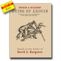 Free GM Resource: Ruins of Arduin Swords & Wizardry Campaign Supplement