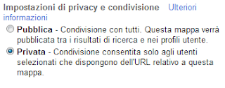 Google Maps - Privacy e condivisione