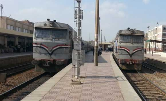 مواعيد القطار المكيف خط القاهرة المناشى إيتاى البارود والعكس