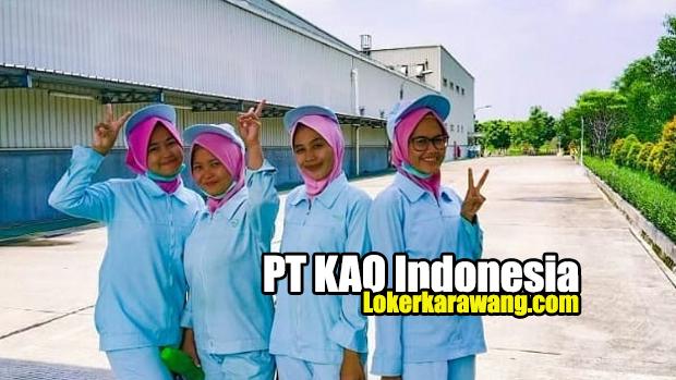 Loker PT KAO Indonesia Karawang