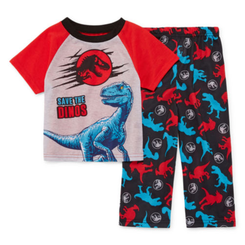 JCPENNEY - Jurassic World 2-pc Pajama Set - Boys 11.99