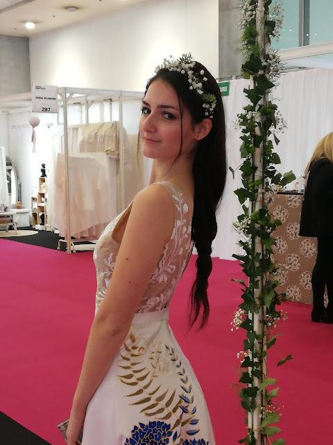 la robe de mariée agapanthe