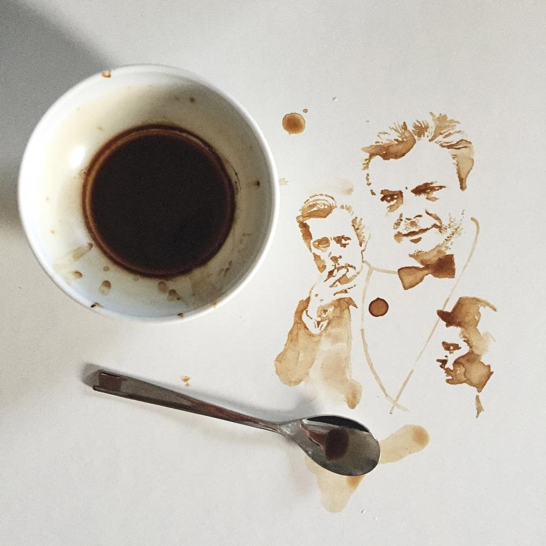 09-Marcello-Mastroianni-Giulia-Bernardelli-Coffee-Cup-Paintings-or-Drawings-www-designstack-co