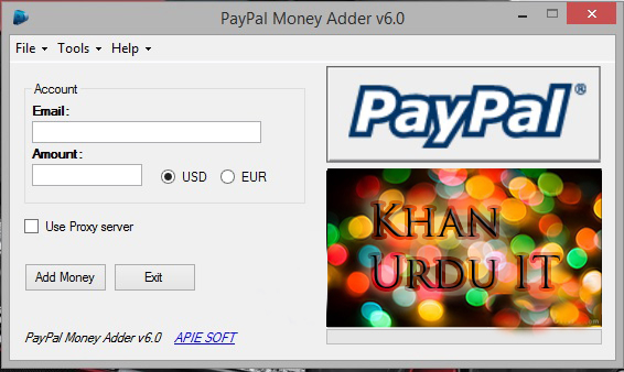 Paypal money generator online no survey 2018: lamden tau token.