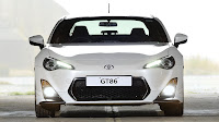 Toyota GT86 TRD front