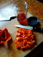 How to make Persimmon Vinaigrette.