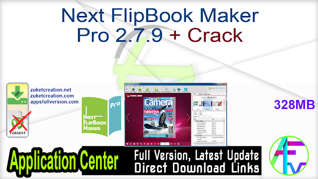 Next FlipBook Maker Pro 2.7.9 + Crack
