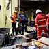 Terjadi insiden. jatuh pesawat tempur milik TNI AU di pemukiman  masyarakat