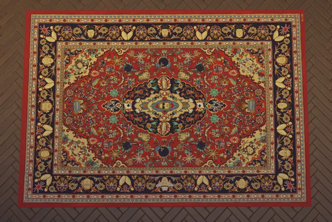 My Sims 4 Blog: The Big Lebowski Area Rugs by ironleo78
