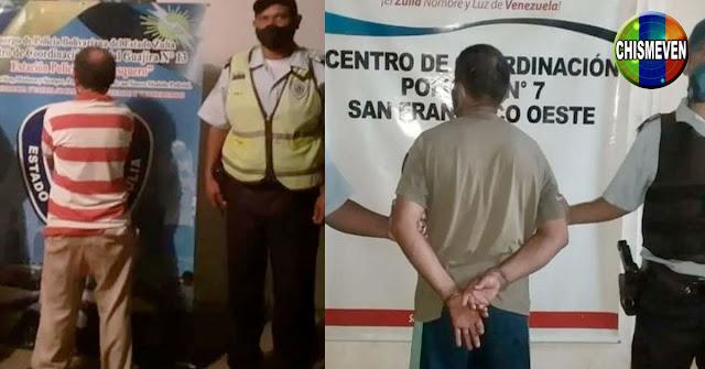 Detenidos dos individuos por mostrar sus partes a dos niñas de 7 y 9 años