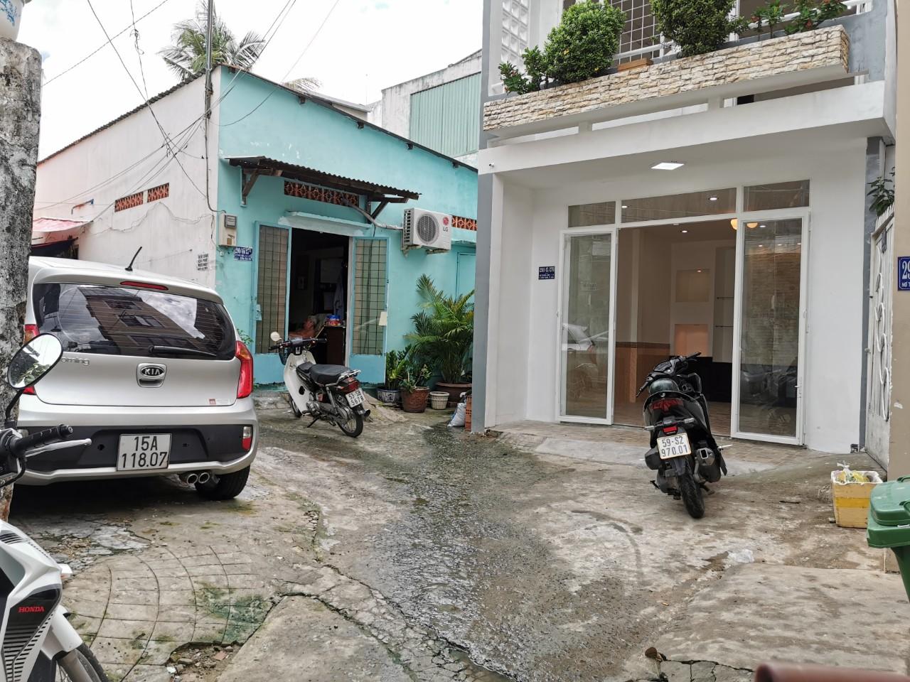 Bán nhà hẻm 290 Nơ Trang Long quận Bình Thạnh. DT 4x7m (nở hậu 8m)