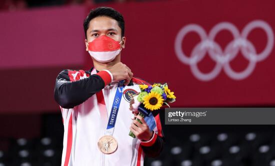 Anthony Ginting, Anthony Sinisuka Ginting, Badminton, Bulutangkis, Olimpiade Tokyo, Tokyo 2020,