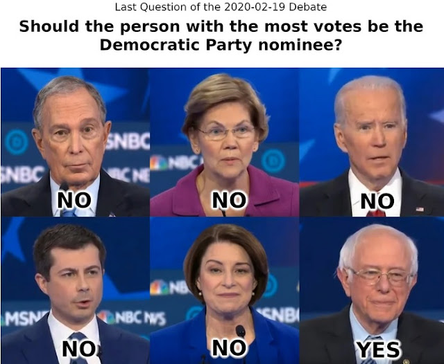 """MEME UPDATE: """"DEMOCRATS"""" OUTVOTE TOTALITARIAN SOCIALIST ON QUESTION OF DEMOCRACY"""