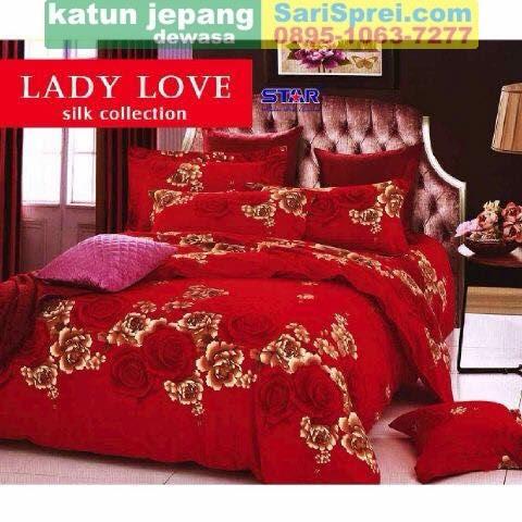 Sprei Katun Jepang Dewasa Lady Love