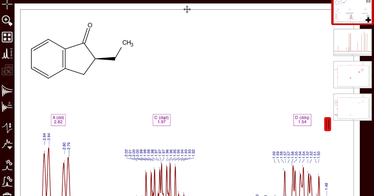 NMR Analysis, Processing and Prediction: NMR for iPad and Android