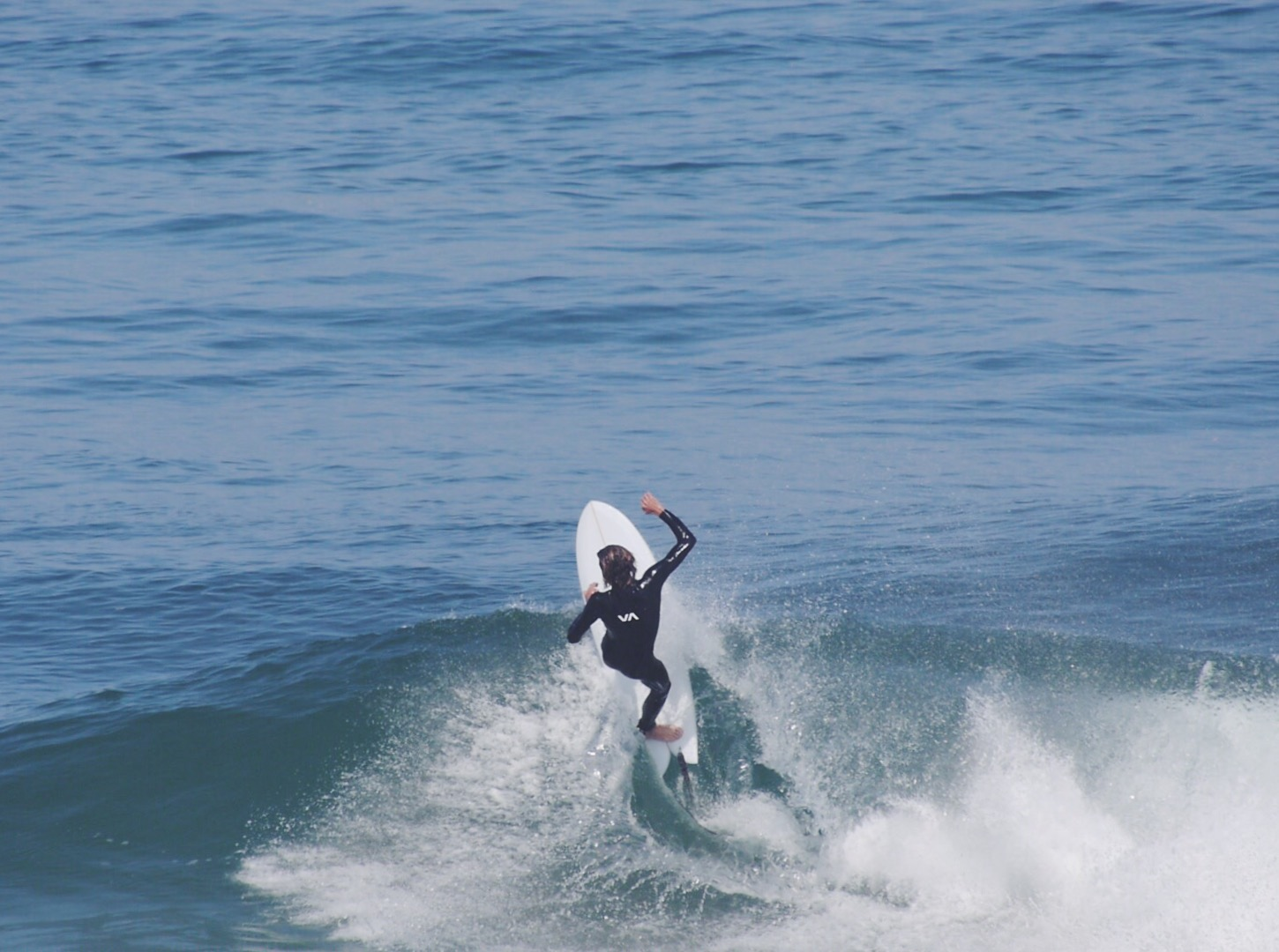 Curren Caples on a twin fin Surfin Estate