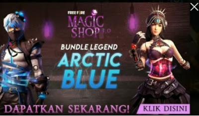 Cara Mendapatkan Bundle Arctic Blue dan Crismon Red  Bundle Arctic Blue FF: Cara Mendapatkan Bundle Arctic Blue Free Fire