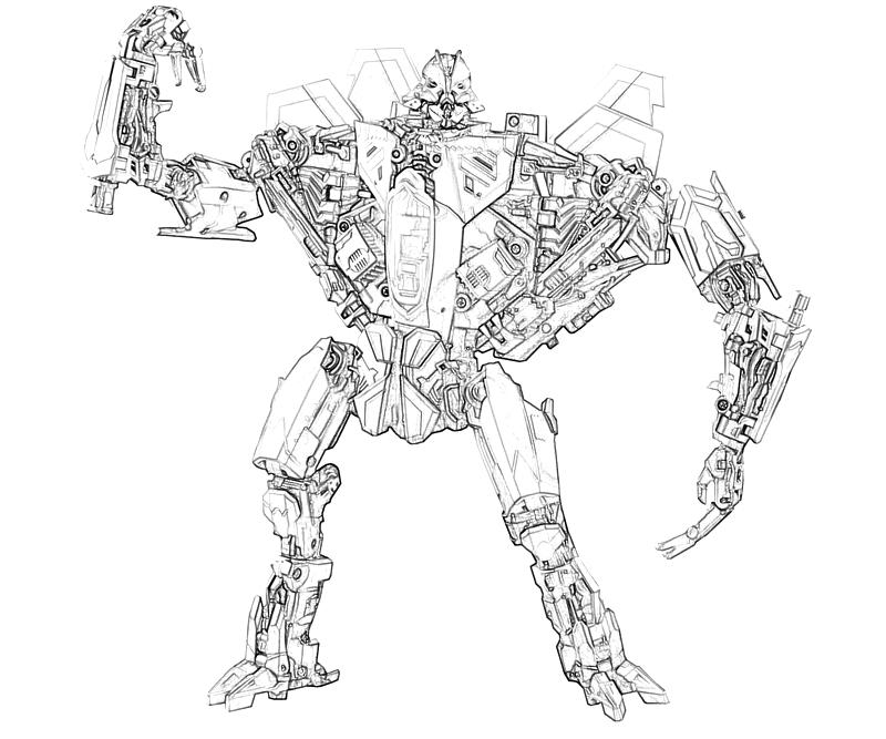 transformers starscream coloring pages - photo#16