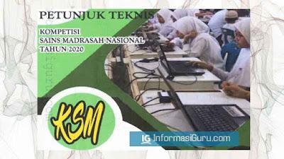 Download Petunjuk Teknis/ Juknis   Nomor 4861 Tahun 2020 Tentang Kompetisi Sains Madrasah (KSM Online) Tahun 2020