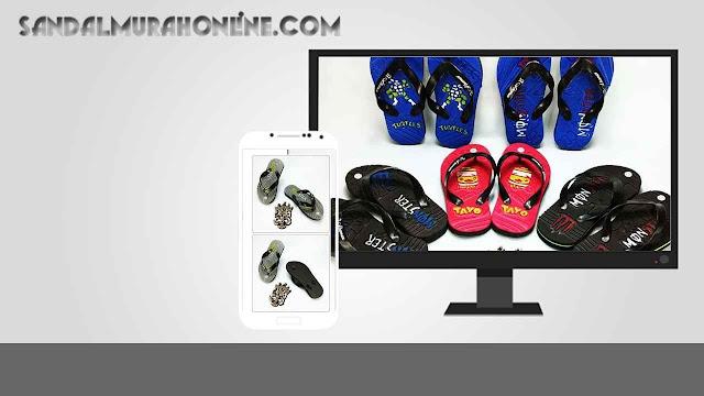 GROSIR Sandal Online - Sandal Jepit Social Anak GSJ