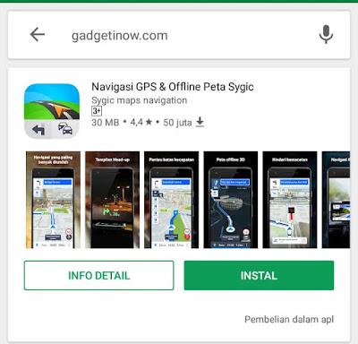 aplikasi maps terbaik dengan fitur lengkap