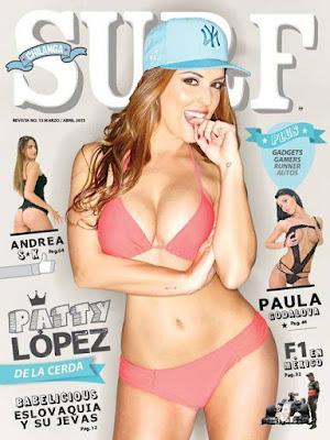 Patty López De La Cerda Revista Chilanga Surf Marzo Abril 2015