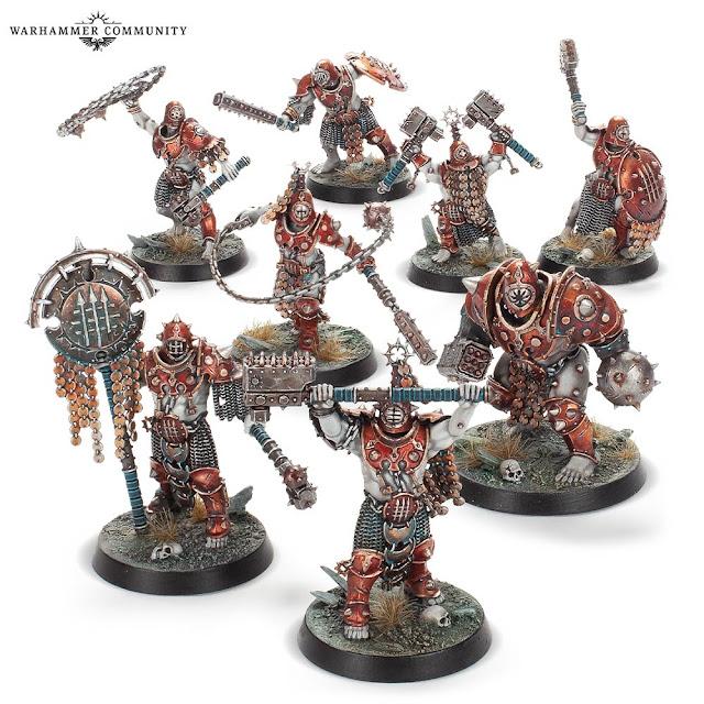 Golems de hierro Warcry