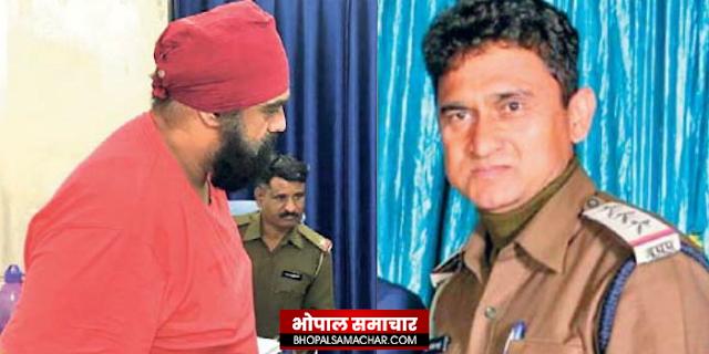 भूमाफिया बॉबी छाबड़ा की सेवा सत्कार के आरोप में टीआई सस्पेंड | INDORE NEWS