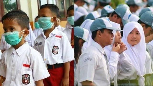 SELAMAT! SD SMP SMA di 104 Kabupaten Ini Boleh Belajar Tatap Muka Hari Ini Senin 13 Juli 2020, Cek List