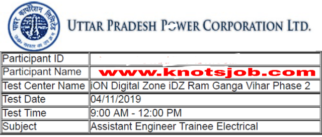 UPPCL AE Electrical 2019 Official Questions Papers With Answer Key