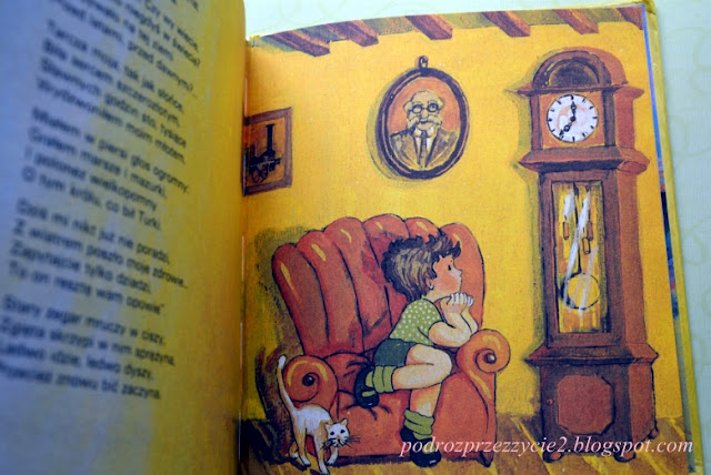 Stary zegar od pradziada Maria Konopnicka