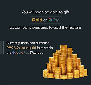 Gold gifting feature coming soon in Google Pay