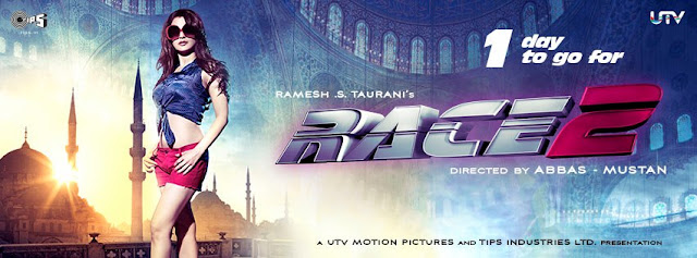 Ameesha Patel Race 2 hot poster