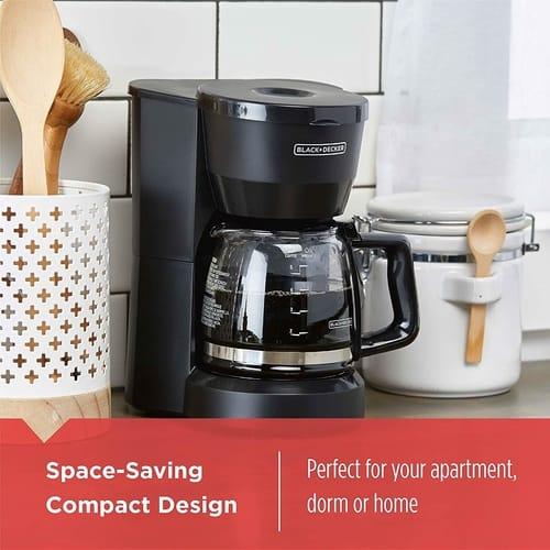 BLACK+DECKER DCM600B 5-Cup Coffee maker