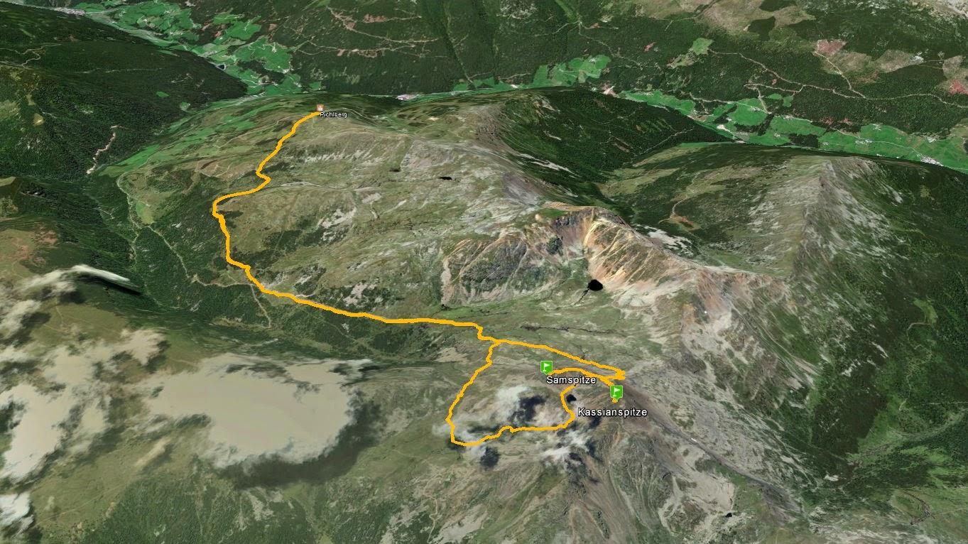 Kassianspitze Cima di San Cassiano
