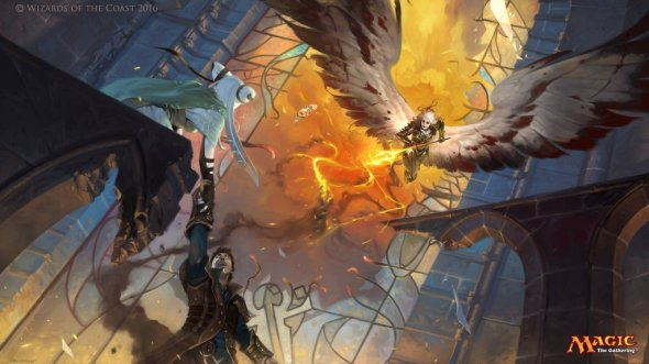 Victor Adame Mínguez deviantart ilustrações fantasia card games magic the gathering