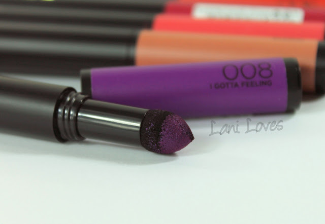 L'Oreal Infallible Matte FX - I Gotta Feeling Swatches & Review