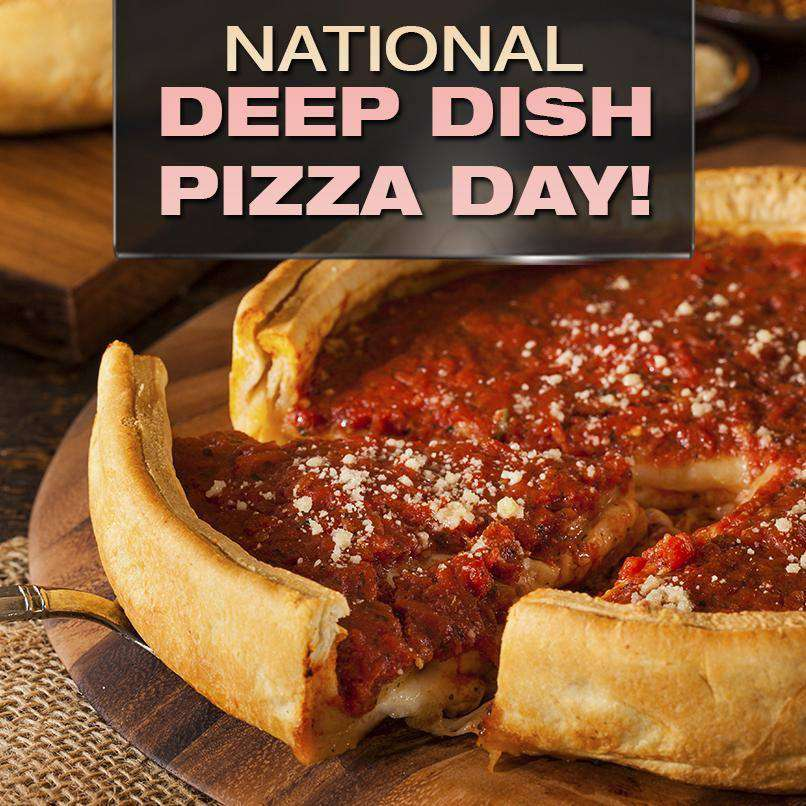 National Deep Dish Pizza Day Wishes pics free download
