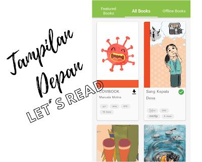 Tampilan Depan Let's Read